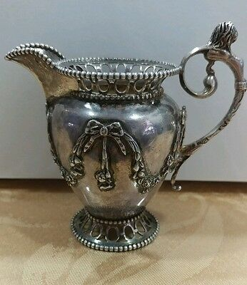 Antique Sterling Silver creamer/jug