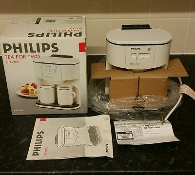 BNIB Philips Tea For Two Teasmade HD 7105