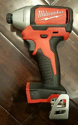 "Milwaukee 2750-20 M18 Brushless 1/4"" Hex Impact Driver"
