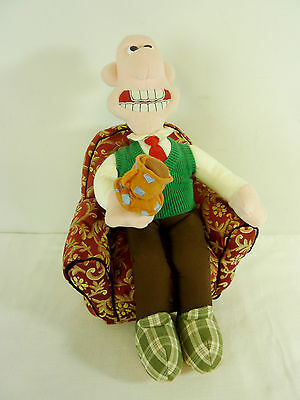 Wallace & Gromit Collectable Born To Play 'wallace In Armchair' Soft Toy    #wo#