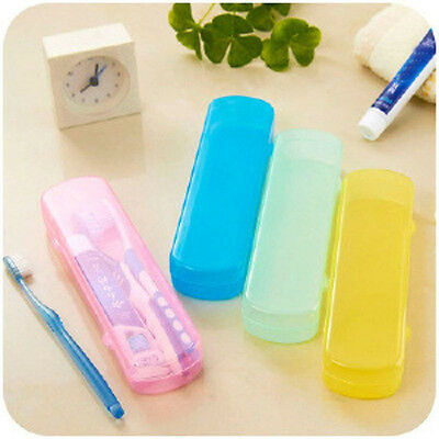 Travel Toothbrush & Toothpaste Camping Case Protect Portable Box Holder