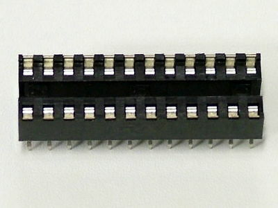5 Pieces 40 Pin DIP Socket Augat 240-AG29D IC Socket New Old Stock Free Shipping