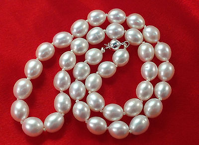 WOW!!!   Large 19 inch Baroque Pearl Necklace