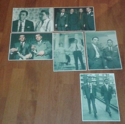 The Krays. Signed Pictures. The Kray Twins. Legend. Gangsters. Ronnie & Reggie.