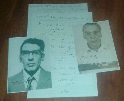Ronnie Kray Prison Letters & Signed Pictures. The Krays. Legend. Crime.