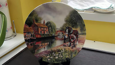 Limited Edition Royal Doulton  Decorative Plate Entitled  New  Shoes