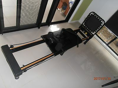 AeroPilates Pilates Reformer with Stand. Hardly used.