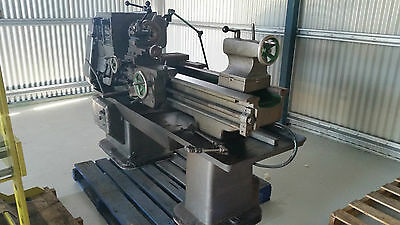 Nuttall Lathe Used Has Extras Machinery
