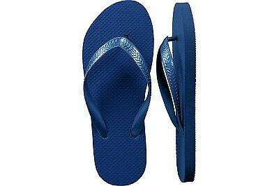 Navy Blue Flip Flops - Wholesale Lot 24 Pairs - Size Medium (7/8)