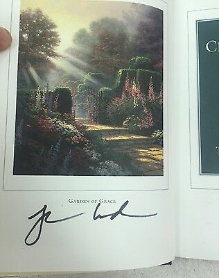 Thomas Kinkade The Art of Creative Living SIGNED First Edition 2005 Book