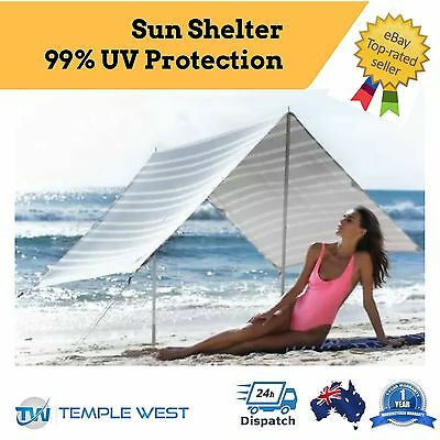 NEW Portable Travel Outdoor Beach Canopy Tent for Shelter/Shade from Sun UPF 50+
