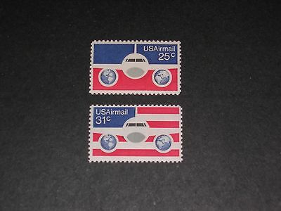 US 1976 Sc #'s C89 & C90 MNH AIR MAIL STAMPS
