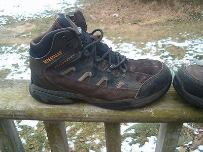 Caterpillar CAT Steel Toe Boots/Shoes Water Proof  Size 12