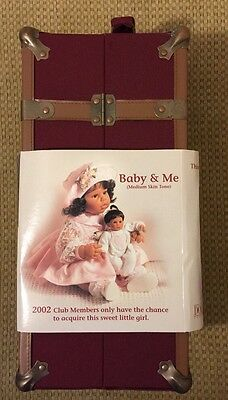 "Lee Middleton 8"" 2002 ""BABY and ME"" Baby Doll and TRUNK SET & Extra Outfit"
