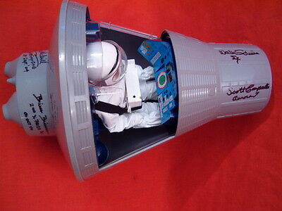 ***gijoe Space Capsule Signed By Schirra, Carpenter, And More
