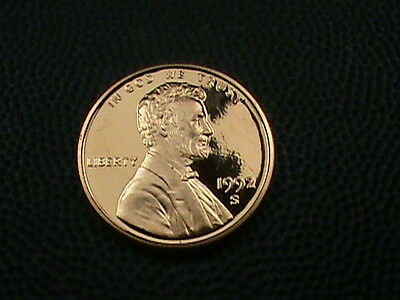 UNITED STATES   1 cent   1992  -  S    PROOF