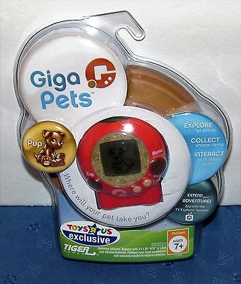 Giga Pets Pup 2006 Tiger Hasbro NEW Sealed Toys R Us Exclusive Free Shipping
