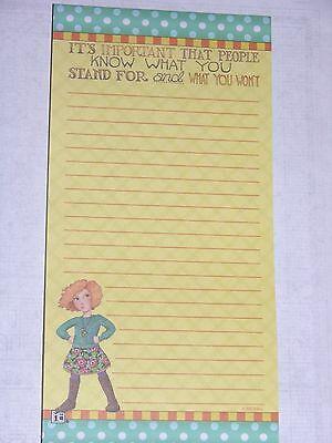 Mary Engelbreit One Magnetic List Pad : 80 Sheets