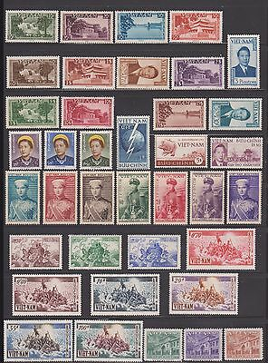 S.Vietnam Stamp Complete Collection Independent State Scott # 1-516 Value $1,725