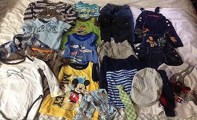 Baby Boys Clothing Size 18 Months -3T Lot of 20 Items