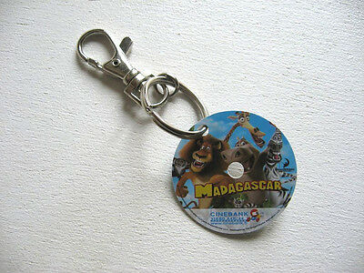Porte Cle Cinebank Cinema Film : Madagascar / Keychains Pc9