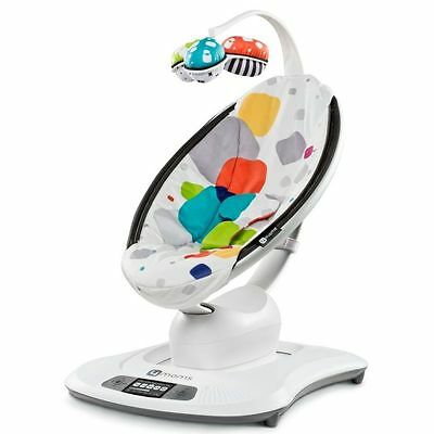 4Moms MamaRoo Robotic Baby Swing Bouncer Multi Colour Plush Bluetooth