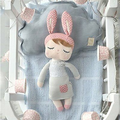 Me Too Angela Stuffed Bunny Baby Plush Rabbit Doll Valentine Gifts for Girls