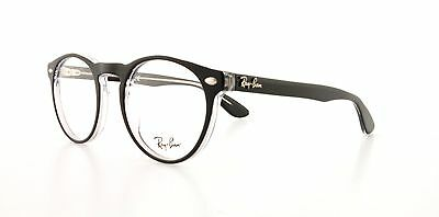 RAY BAN Eyeglasses RX 5283 2034 Black Transparent 47MM