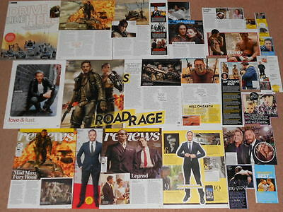 20+ TOM HARDY Magazine Clippings
