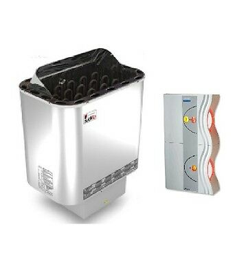 Sauna heater Nordex with control WAVE 1 - 6.0 kw for 220V 1N~ or 380V 3N~