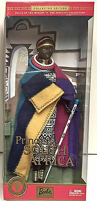 2002 Dolls Of The World Dotw Princess Of South Africa - Nrfb