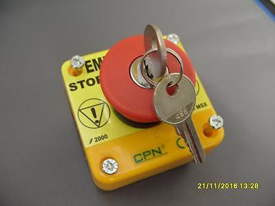 CPN Keyed Stop Switch