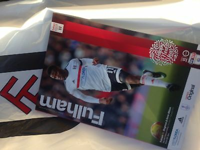Fulham v Brighton 2/1/17 Match Programme Mint Condition