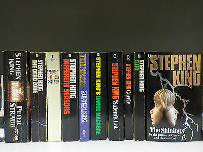 Stephen King - 10 Books Collection! (ID:42254)