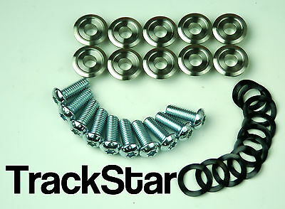 Brand New 93 - 99 R 1100 Gs Set Of 10 Front Brake Disc Bobbins Washers Bolts