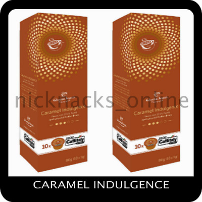 Gloria Jeans Coffee Capsules Caramel Indulgence 20 Pods for Caffitaly System