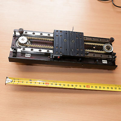 Linear Table with Stepper Motor - IKO Linear Rails 235mm for quick CNC build