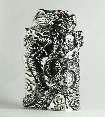 Zippo Lighters Dragon sculpture From Japan NEW in Box