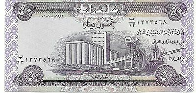 Central Bank of Iraq x 50 Dinasr Uncirculated Banknote