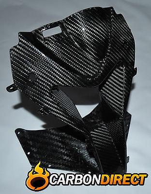 Bmw S1000Rr 100% Carbon Fibre Front Ram Air Nose Vent In Gloss Twill 2009-2014