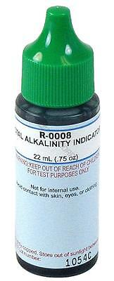 Taylor Pool Spa Water Test Kit R-0008 Total Alkalinity Indicator 3/4 oz R-0008-A