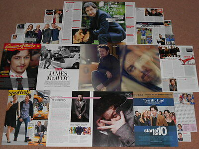 20+ JAMES MCAVOY Magazine Clippings