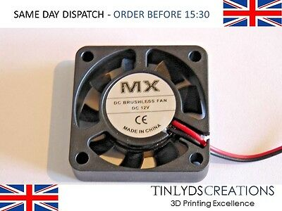 12v dc brushless fan extruder 40x40mm-9 blades ANET A8 , PRUSA 3d printer part