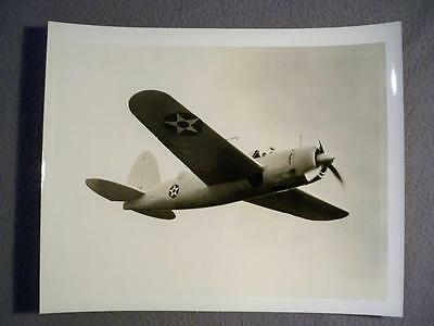 Vintage Wwii Sb2A Buccaneer Aircraft Official Brewster Corp 8X10 B/w Photo  #17