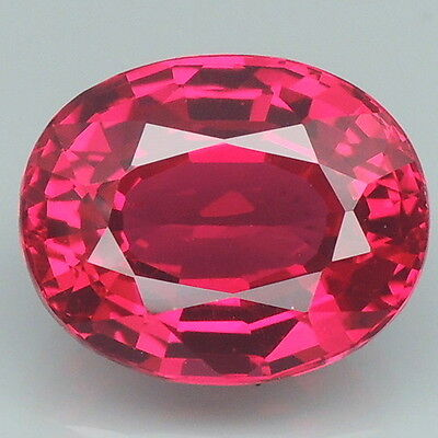 Appealing!!! 5.6ct. Red Topaz Oval