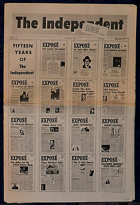 Rare VINTAGE Newspaper !!THE INDEPENDENT !!January 1967 (Issue: 173) , NEW YORK