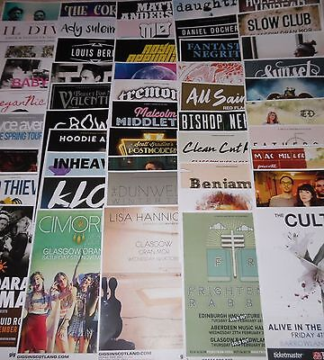 ANY 3 posters for £10 - UK live music tour concert / gig poster