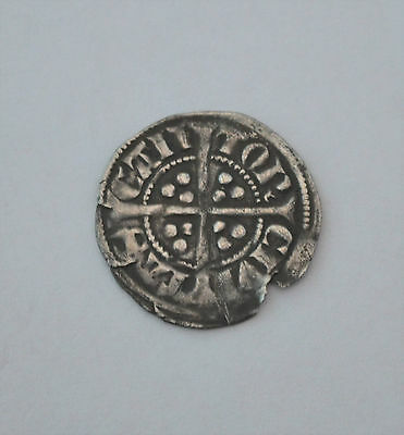 Unreachered Half Groat Hammered?