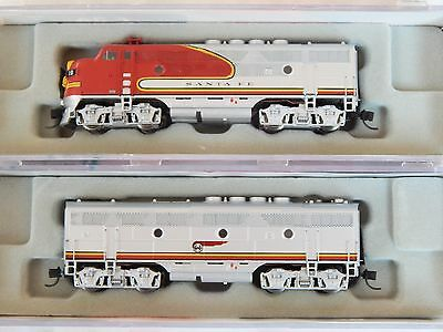 Intermountain N-Scale F3 A&B Santa Fe WARBONNETS, beautiful detail and run great