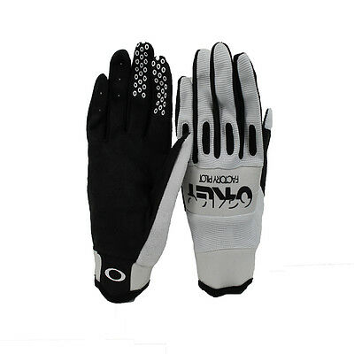 Oakley Mens Factory Pilot Cycling Glove White